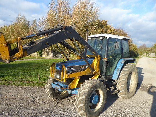 Ford NH 6640 LOADER TRACTOR