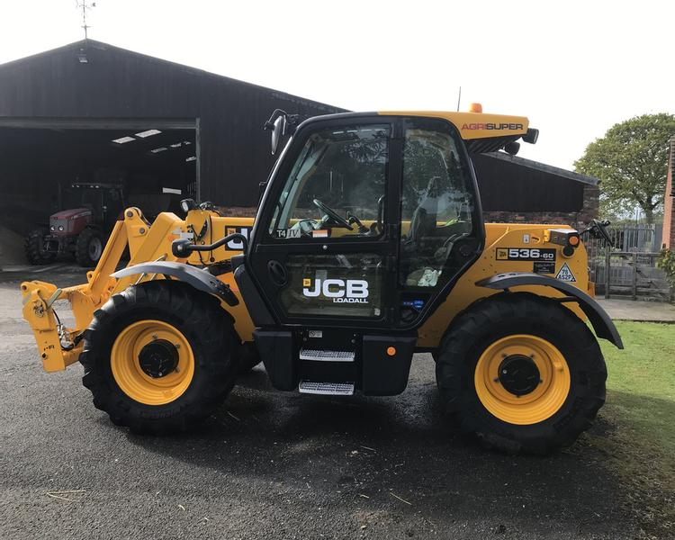 JCB 536-60 Agri Super Loadall (SAS)