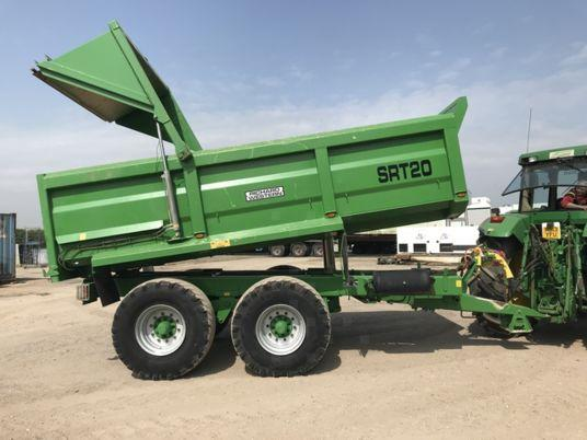 2014 used 20 tonnes dump trailer WESTERN STR20 d'occasion