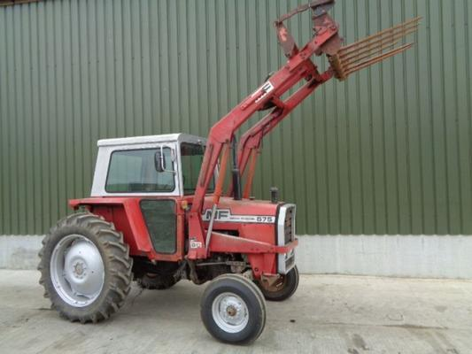 Massey Ferguson Used  575 C/w 80 Loader