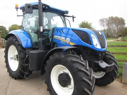 New Holland T7.245, 04/2016, 870 hrs