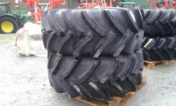 Goodyear Pair of 600/70 R28 Tyres