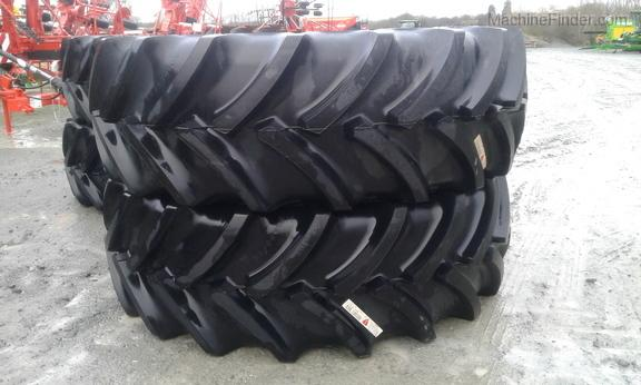 Goodyear Pair of 650/85 R38 Tyres