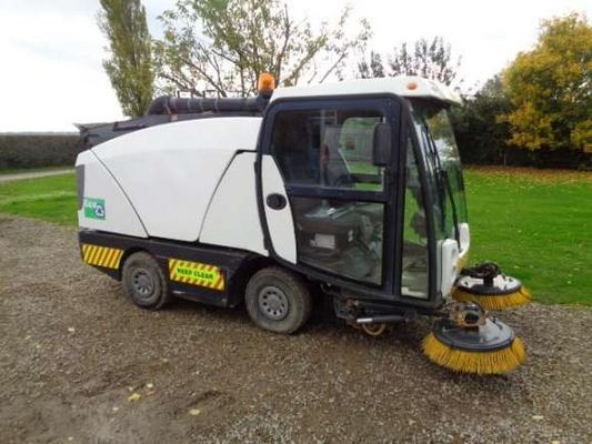 Seat Used Johnston Suction Sweeper