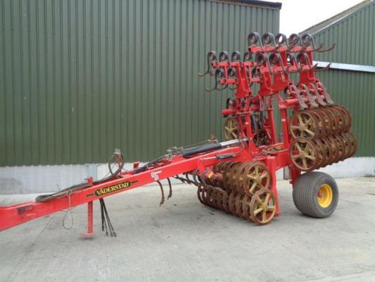 Used Vaderstad Rexius Twin 450 Cultivator Press