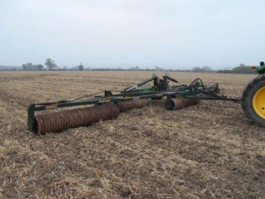 Used Cousins 12 Meter Contour Rollers