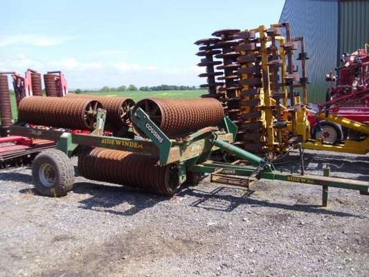 Used Cousins 9M Sidewinder Rollers