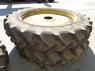 Sonstige 380/90/50 Rears And 380/85/34 Front Rowcrop Wheels, John Deere