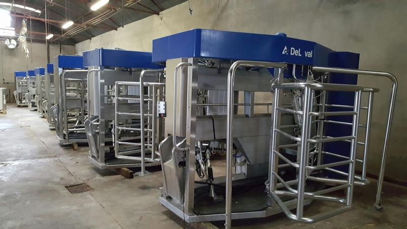 DeLaval VMS (7 machines available)