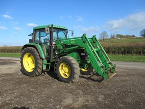 John Deere 6310 4wd Tractor with Loader Tractors Used in