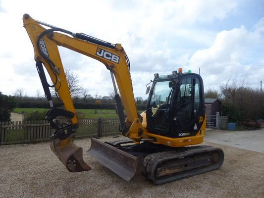 JCB  8085ZTS ECO TRACKED DIGGER