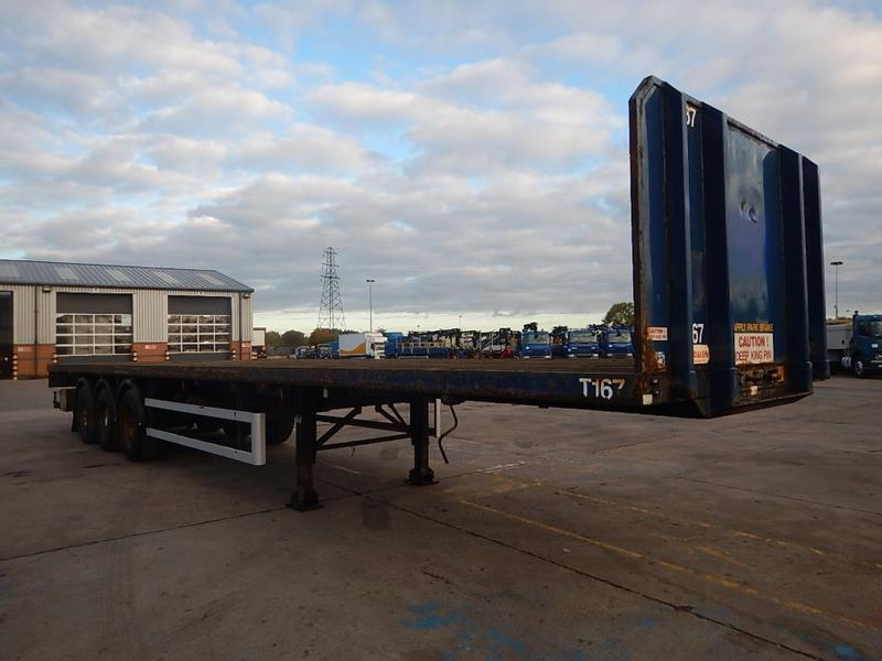 Montracon 44T FLATBED TRAILER - 2007 - C248824