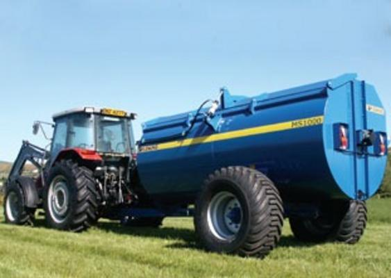 NEW FLEMING MS1000 MUCKSPREADER