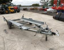 Ifor Williams CT115 Single Axle Car Transporter Trailer