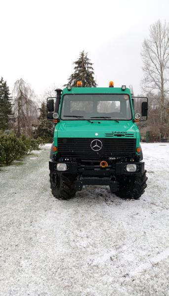 Mercedes-Benz Unimog U 1600 Agrar 214 PS