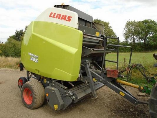 Claas Variant 385 Round Baler For Sale