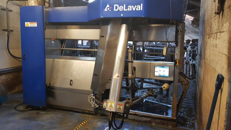 DeLaval VMS 2007 linker & rechter model