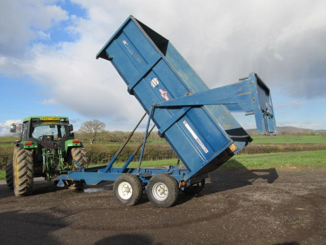 AS MARSTON CL8 8 Ton Grain Trailer