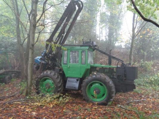 Other Used MB Trac 1300 C/w Keto Timber Harvester