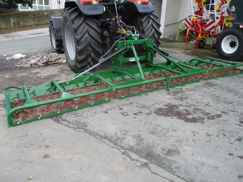 Düvelsdorf used düvelsdorf 6m grass harrow for sale tractorpool co uk