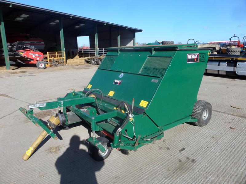 wessex STC180 SWEEPER COLLECTOR