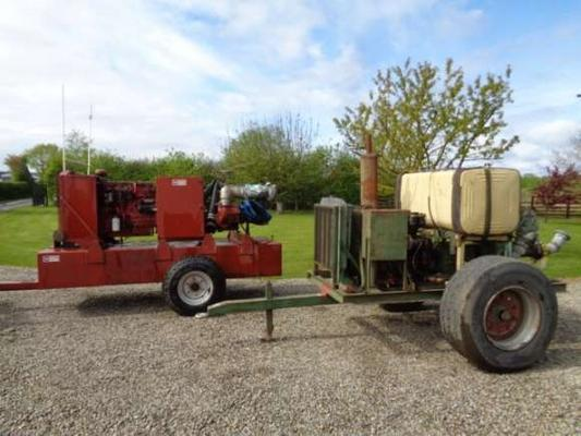 Other Used Water Pumps C/w Perkins Engine`s