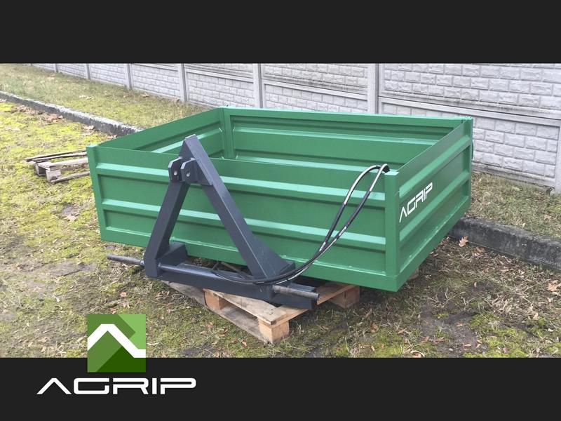 Container for the rear of the tractor Container BESTSELLER