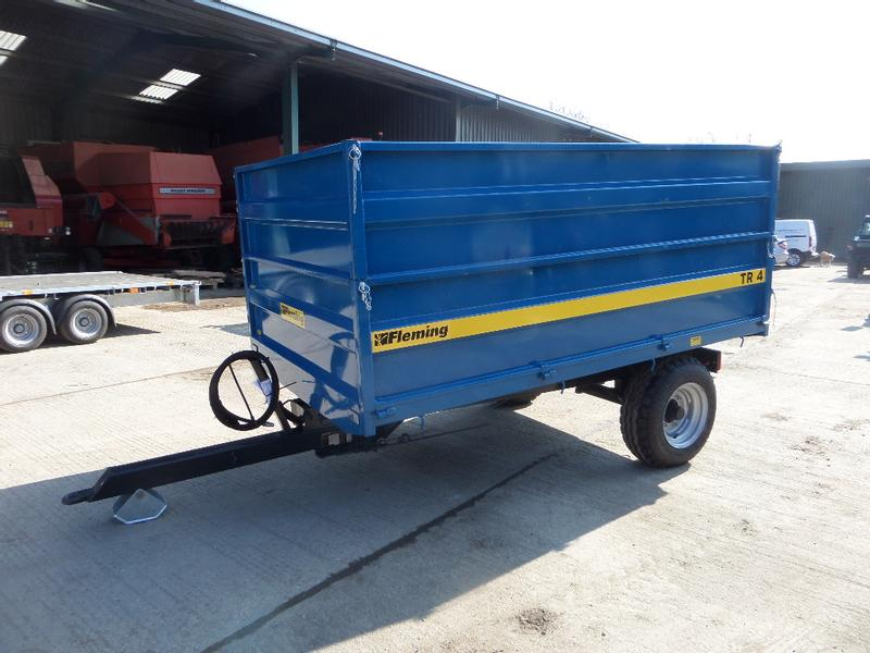 Fleming TR4 HIGH SIDED TIPPING TRAILER