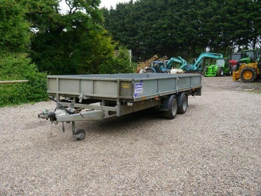 Ifor Williams  LM166G 3500KG Trailer