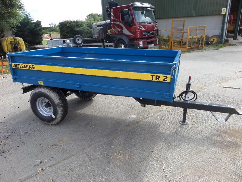 Fleming TR2 2 TONNE TIPPING TRAILER