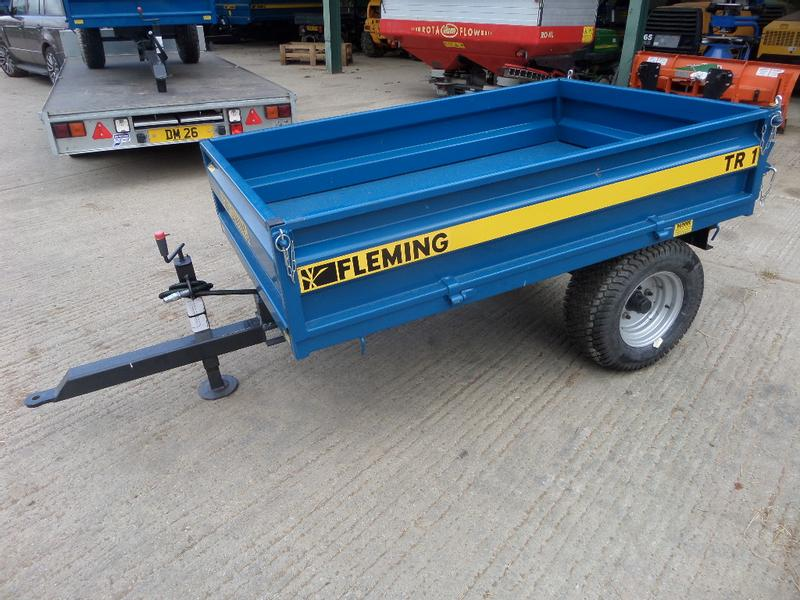 Fleming TR1 1.5 TONNE TIPPING TRAILER