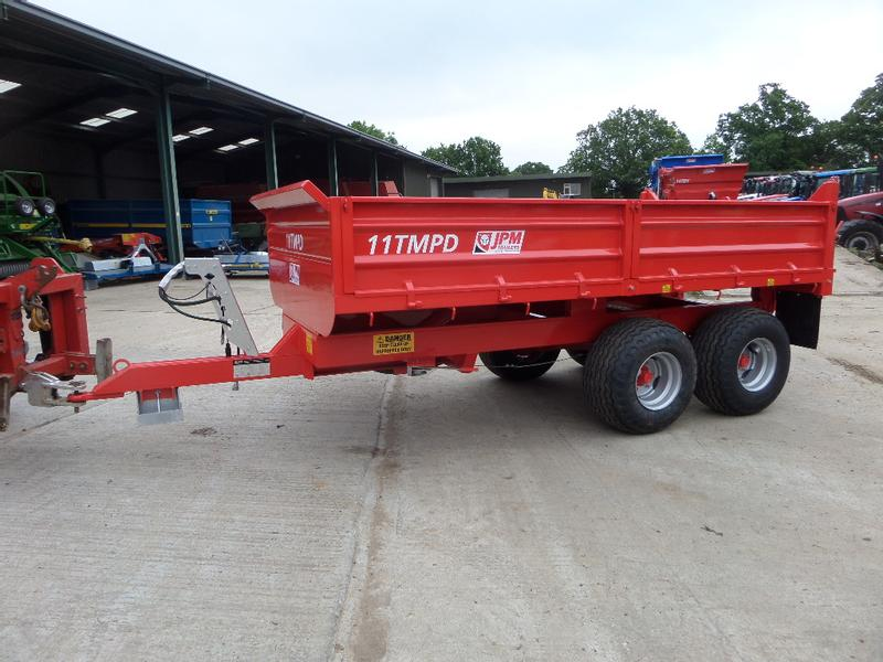 JPM NEW JPM 8 TONNE MULTI PURPOSE DUMP TRAILER