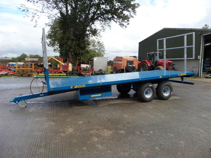 Fleming 21FT BALE TRAILER
