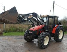 SAME EXPLORER 90 4WD LOADER TRACTOR