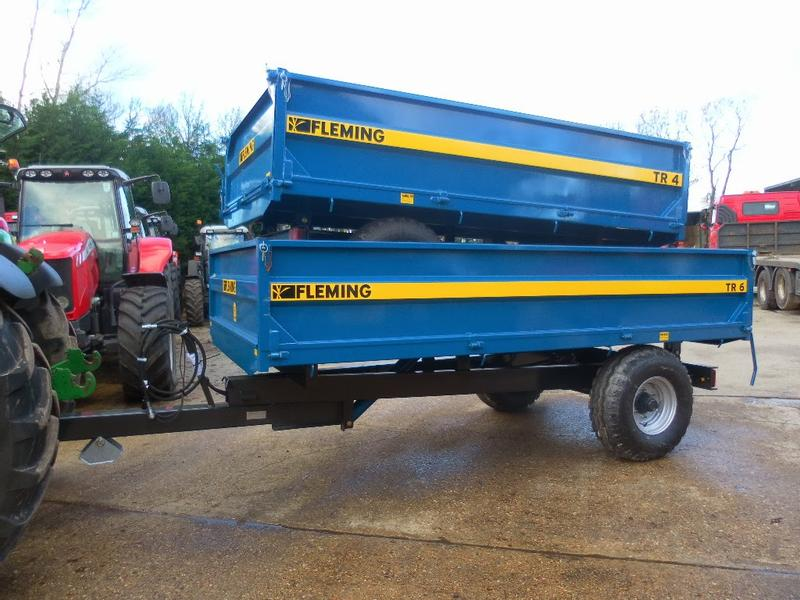 Fleming TR6 6 TONNE GENERAL PURPOSE TIPPING TRAILER