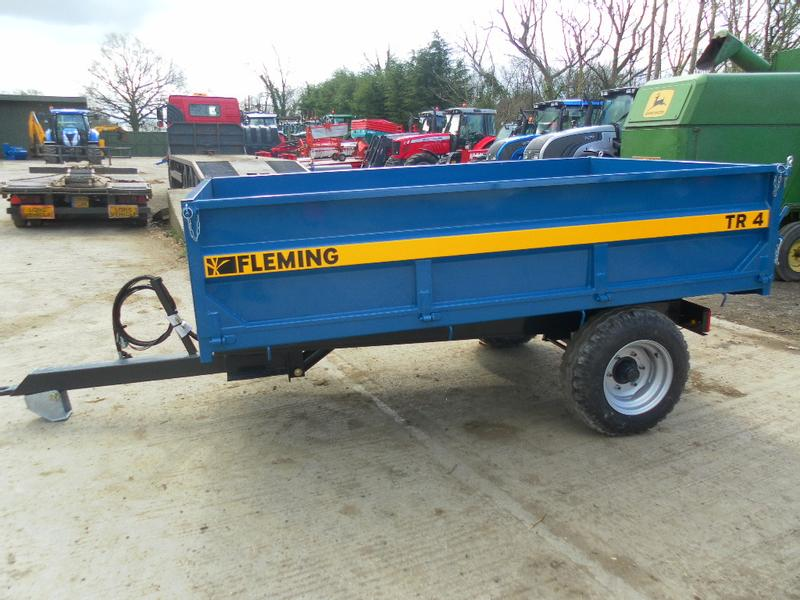 Fleming TR4 4 TON TIPPING TRAILER