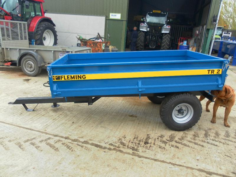 Fleming TR2 2 TON TIPPING TRAILER