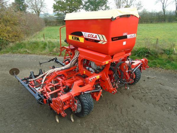 KRM Sola NS Plus 2311 4m Tine Drill For sale