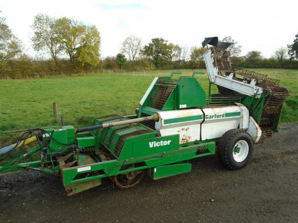 Garford Victor 4 Row Beet Harvester For Sale
