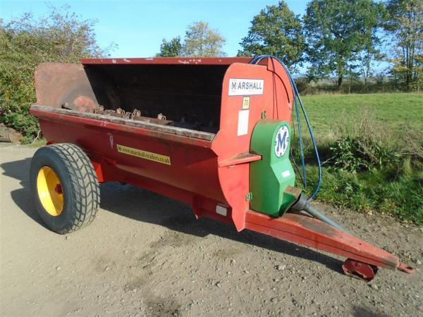 Marshall MS70 Muck Spreader For Sale
