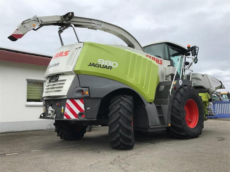 Claas Jaguar 980 mit Shredlage CornCracker **Landwirtsmaschine**