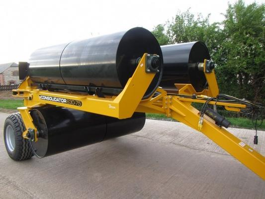 Twose Consolidator 630-75 rollers