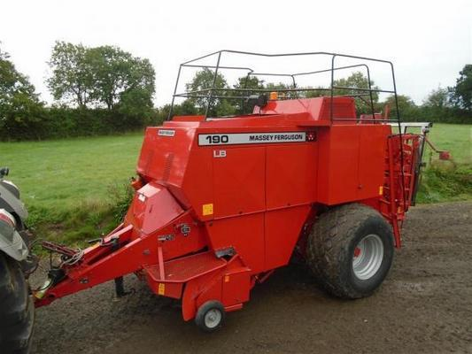 Massey Ferguson  190 Baler For Sale