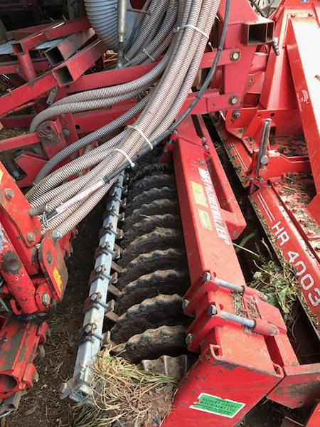 Other Kuhn Accord 4 Meter Power Harrow Drill