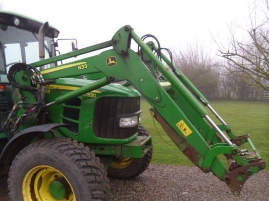John Deere Used  633 Loader