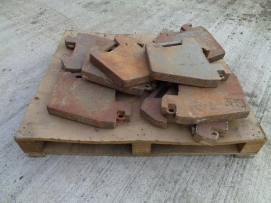 Massey Ferguson Used  45KG Weights