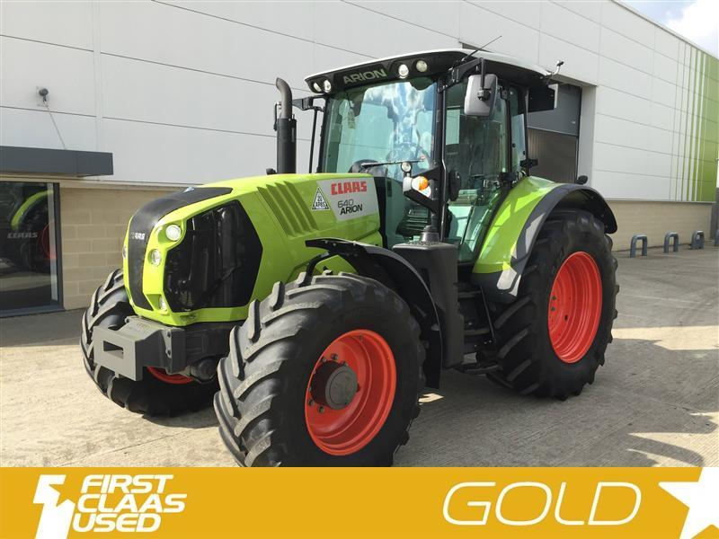 Claas ARION 640 CIS 50k