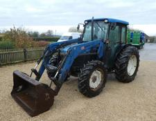New Holland tn55d 4wd loader tractor