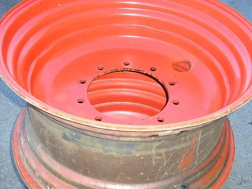 GKN 2  15 x 30 Tractor 4WD front wheel rims