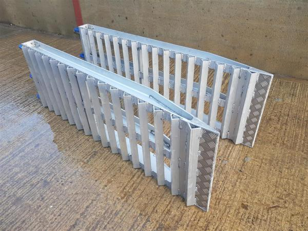 Aluminium Low Loader Ramps For Sale